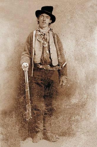 Uma das únicas fotos de Billy the Kid