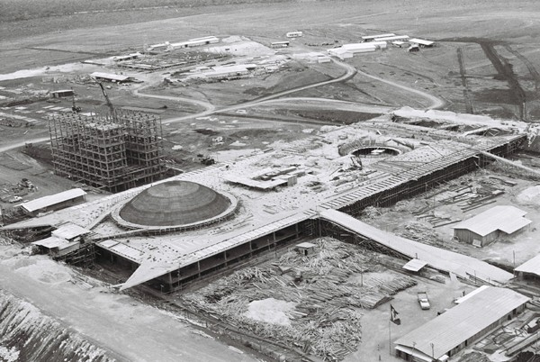 Congresso Nacional em construção (1958-1960)
