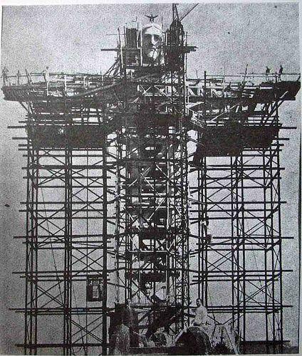 Construção do Cristo Redentor