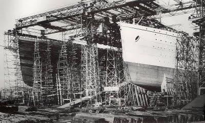 Construção do Titanic
