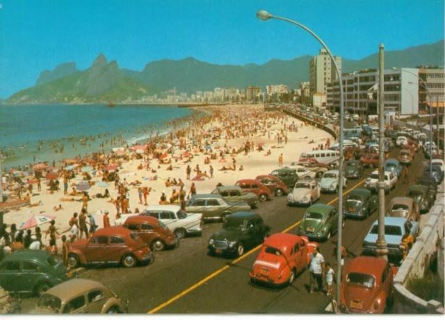 Copacabana era assim (Fusquinha predominava)