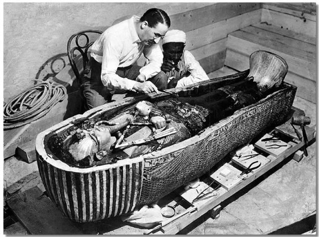 Descoberta do túmulo de Tutancâmon