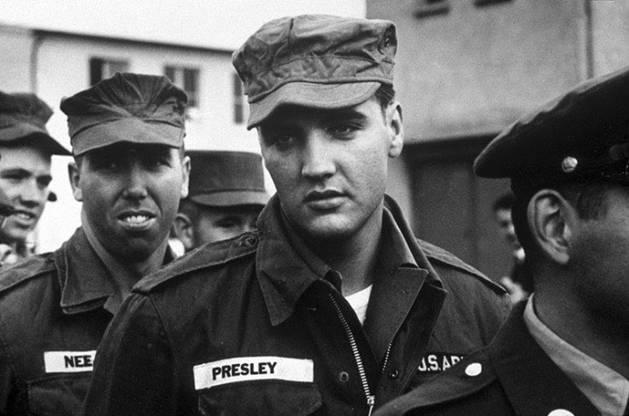 Elvis no exército