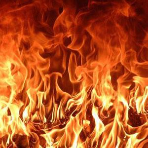 criança fogo
