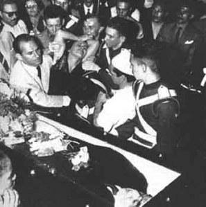 Velório do presidente Getúlio Vargas - 1954