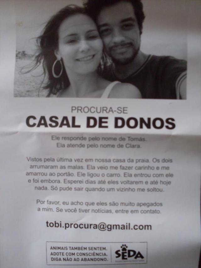 casal de donos desaparecidos